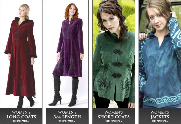 Down Coats For Women Dark Green